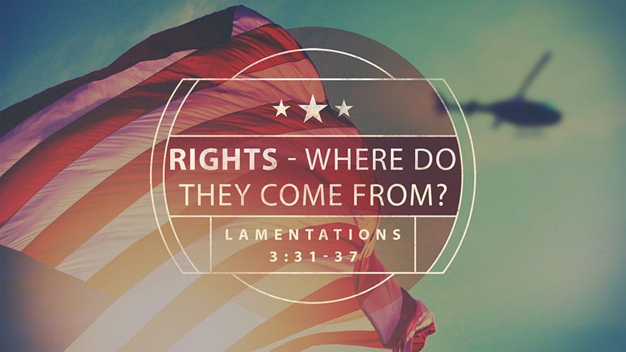 Rights - Where Do They Come From?